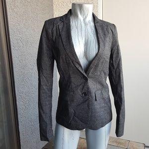 Apt 9 Black & White Sexy Tweed Blazer Jacket